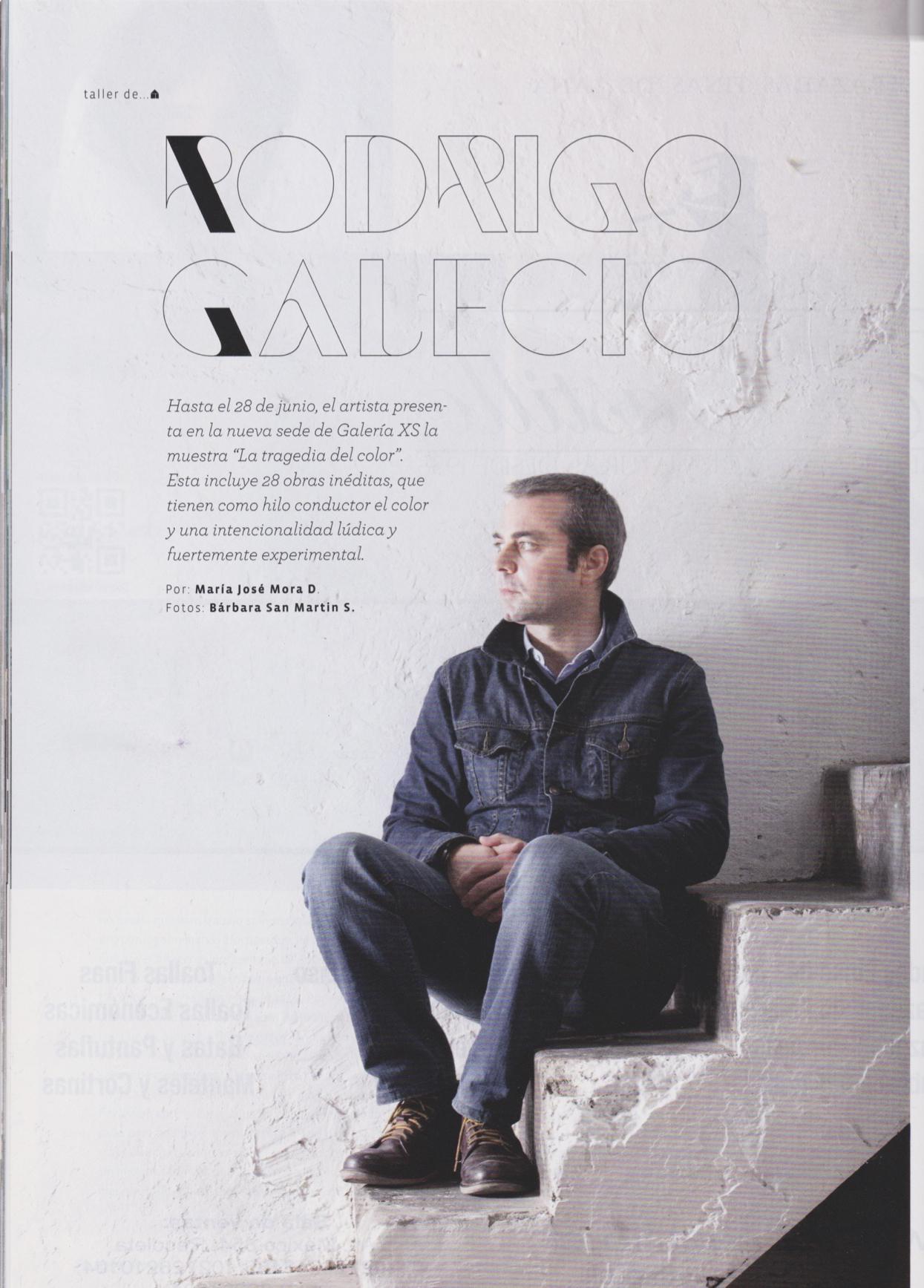 galecio - Entrevista a Rodrigo Galecio, Revista Casas, Junio 2014, pag 28-32